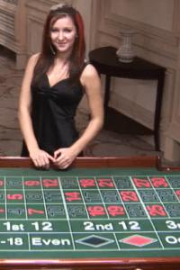 casino roulette kan gespeeld worden met een echte dealer aan tafel